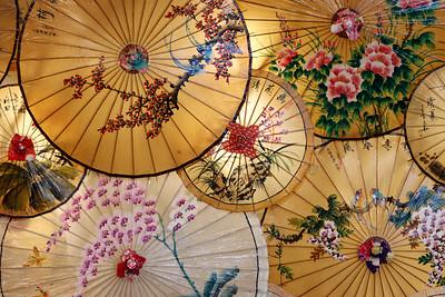 Paper Umbrella Display