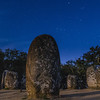 Portugal Cromlech of the Almendres Megalithic Complex Night Photography 4 By Messagez com