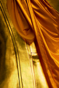 Behind Buddha - Nakhon Si Thammarat, Thailand