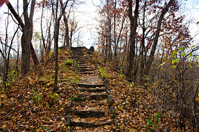 Stairs near Red Wing - Minnesota