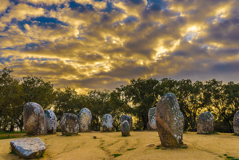 Portugal Cromlech of the Almendres Megalithic Magic Photography 41 By Messagez com