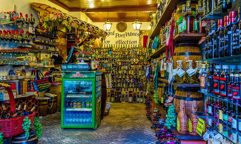The Lisbon Wine Shop Image By Messagez.com