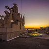 Lisbon Augusta Street Triumphal Arch Viewpoint Sunset Photography 11 By Messagez com