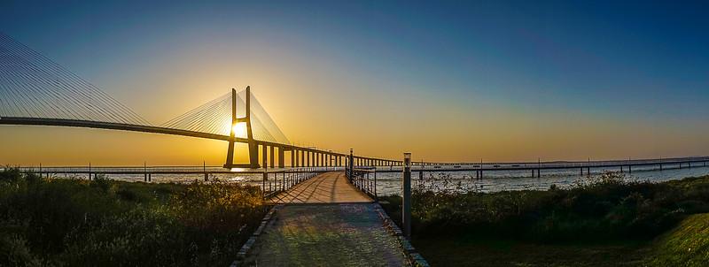 Original Lisbon Portugal Bridge Panorama Art Photography 35 By Messagez com