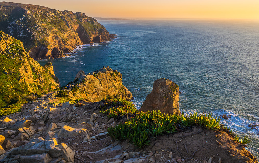 Portugal Atlantic Ocean Sunset Viewpoint Photography 13 By Messagez com