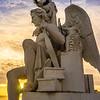 Lisbon Triumphal Arch Viewpoint Sunset Photography 15 By Messagez com