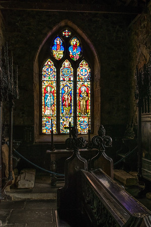 Northumberland. The Chapel of St. Cuthbert.