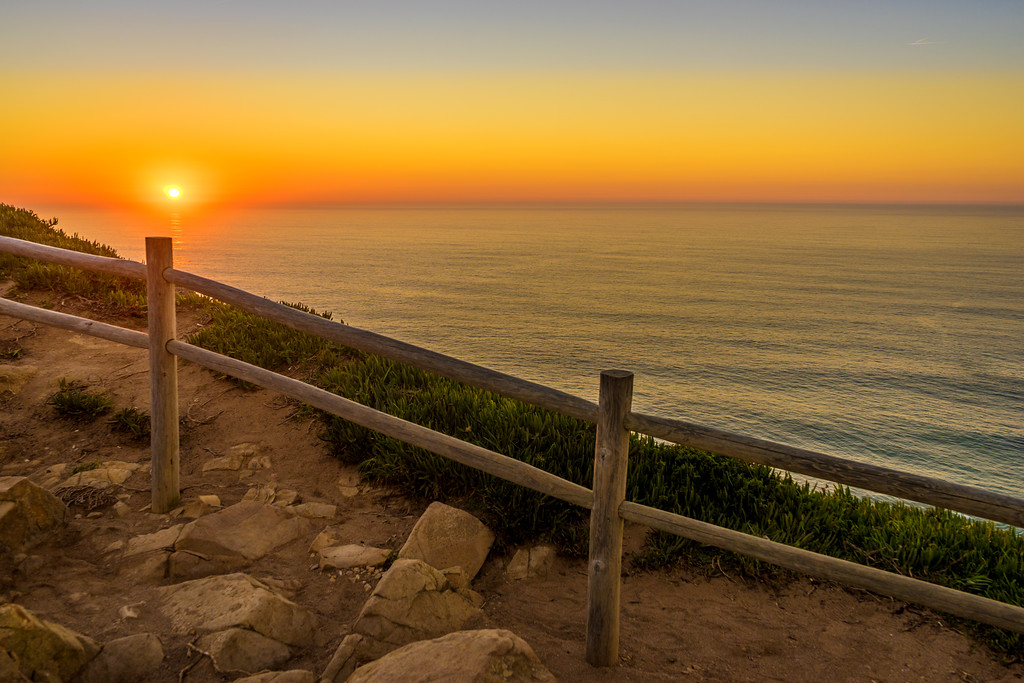 Cabo da Roca at Sunset Photo By Messagez com