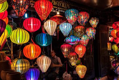 Silk Lanterns, Night Markets Hoi An