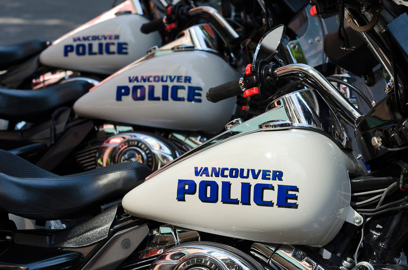 Vancouver Police Bikes.