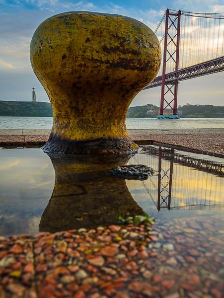 Under The Lisbon Bridge Art Photography 5 By Messagez com
