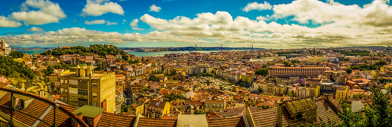 Best of Portugal Lisbon Panoramic Photography 3 By Messagez com