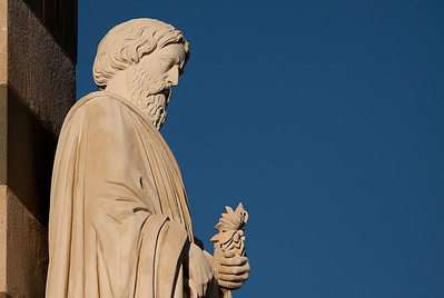 Statue from Notre Dame de La Garde - Marseille