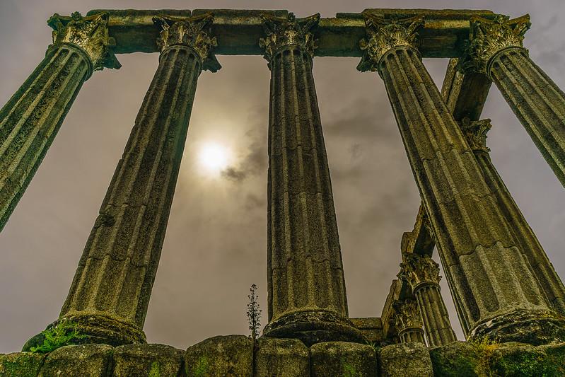 Portugal Evora Temple Photography By Messagez com