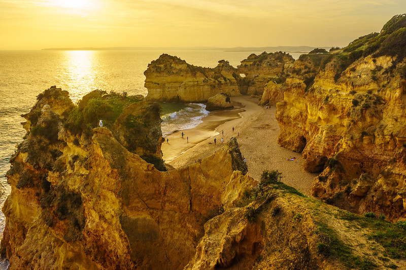 Best of Algarve Beaches Photography Alvor 7 By Messagez com