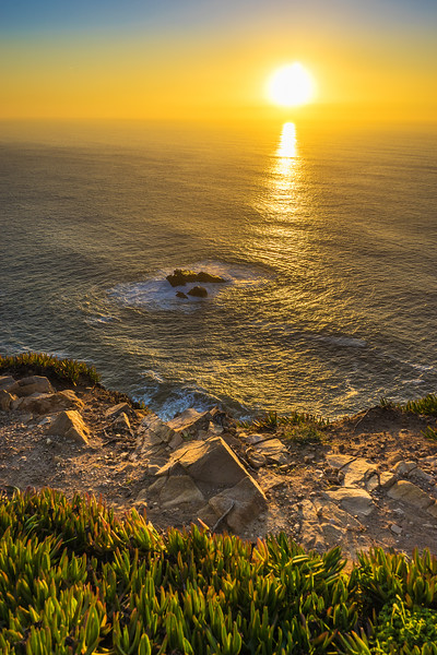 Portugal Atlantic Ocean Sunset Viewpoint Photography 12 By Messagez com