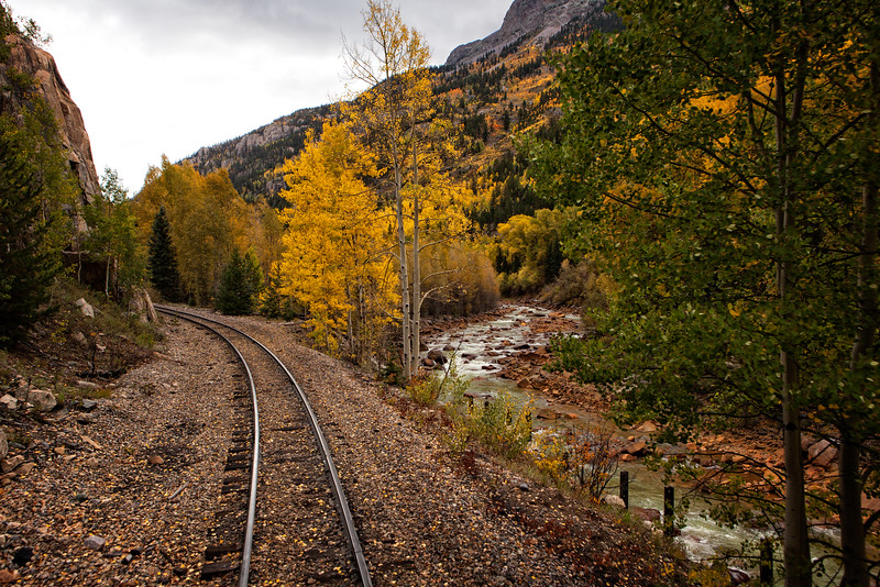 Train ride from Silverton