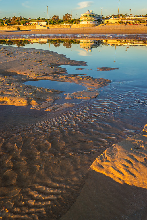 Original Lisbon Coast Reflection Flow Photography By Messagez com