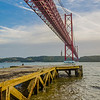 Under The Lisbon Bridge Art Photography 2 By Messagez com