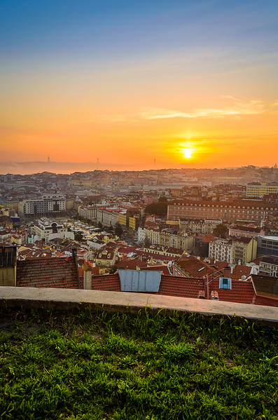 Amazing Lisbon Viewpoint Sunset Photography By Messagez com