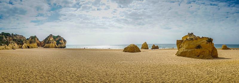 Best of Algarve Beaches Panorama Photography Alvor 11 By Messagez com