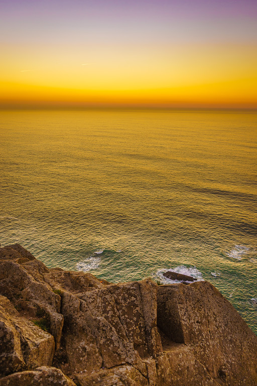 Portugal Atlantic Ocean Sunset Viewpoint Photography 3 By Messagez com