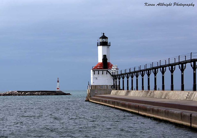 Lighthouse, Michigan City, Indiana