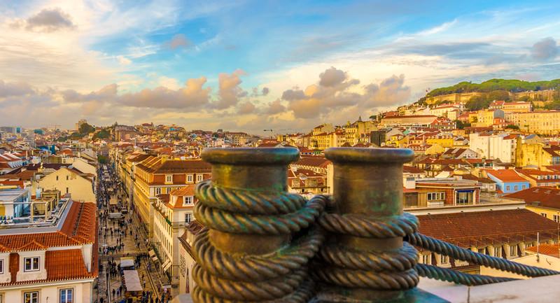 Lisbon Triumphal Arch Viewpoint Photography 9 By Messagez com