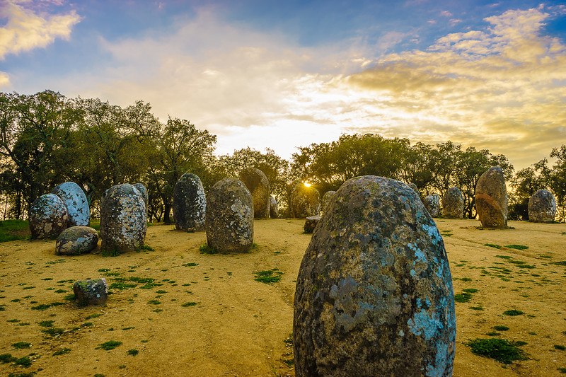 Portugal Cromlech of the Almendres Megalithic Magic Photography 45 By Messagez com
