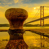 Under The Lisbon Bridge Art Photography 4 By Messagez com