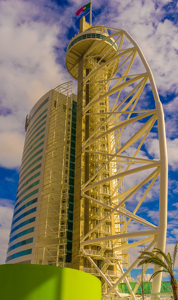 Original Expo Lisbon Tower Photography 2 By Messagez com