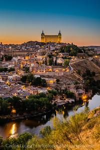 Toledo Alcazar & River