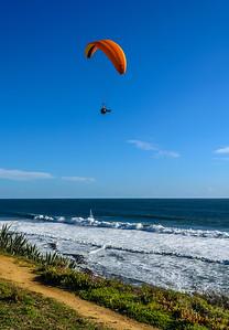 Flying Over Lisbon Beach