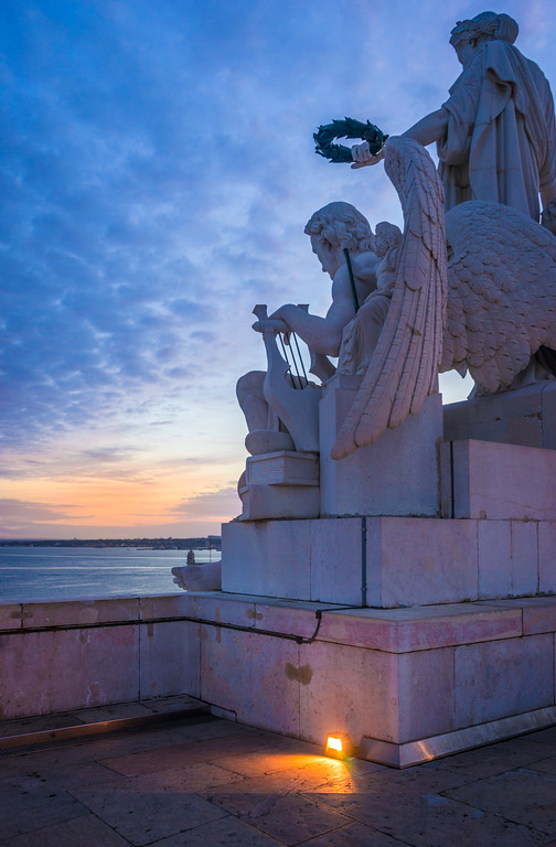 Lisbon Triumphal Arch Viewpoint Sunset Photography 21 By Messagez com
