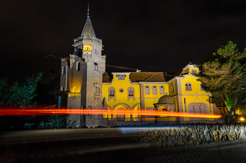 The Mystic Portugal Cascais Castle at Night Photography 3 By Messagez com