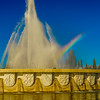 Original Lisbon Fountain Rainbow Photography By Messagez com