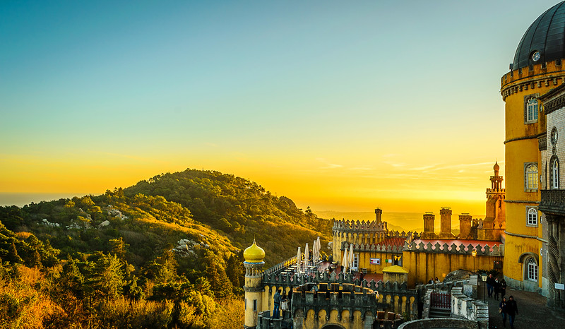 Sintra Pena Palace Photography 2 By Messagez com