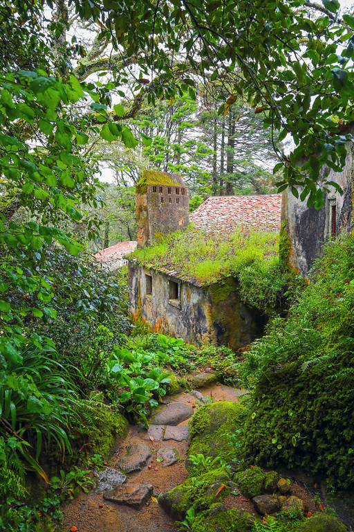 Convent of the Capuchos, Sintra, Portugal.