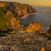 Portugal Atlantic Ocean Sunset Viewpoint Panoramic Photography By Messagez com