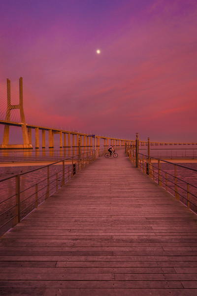 Under The Moon at Sunset Photography By Messagez com