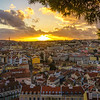 Lisbon Graceland Viewpoint Sunset Photography 2 By Messagez com