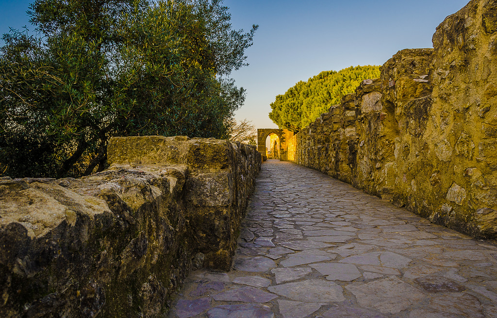 Original Portugal Lisbon Castle Photography By Messagez com