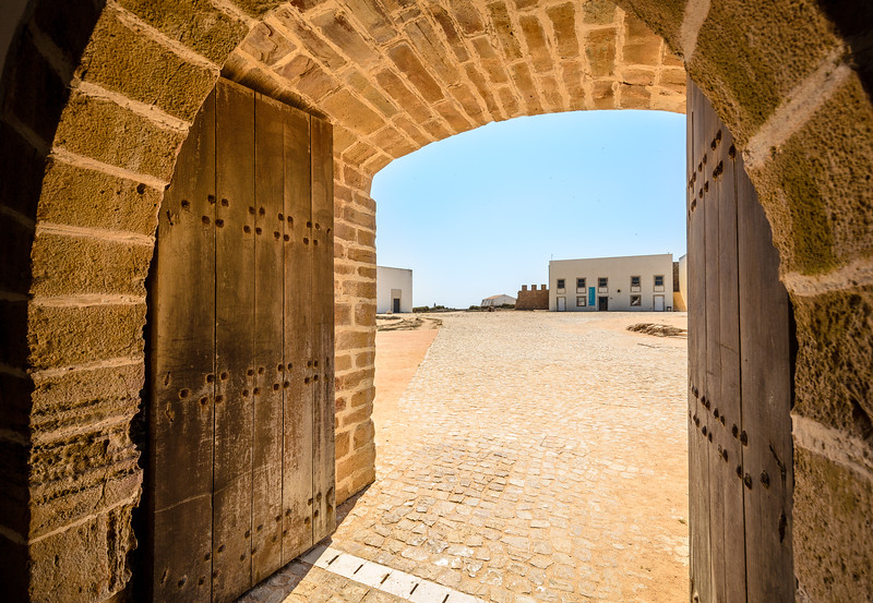 Sagres Fortress Door