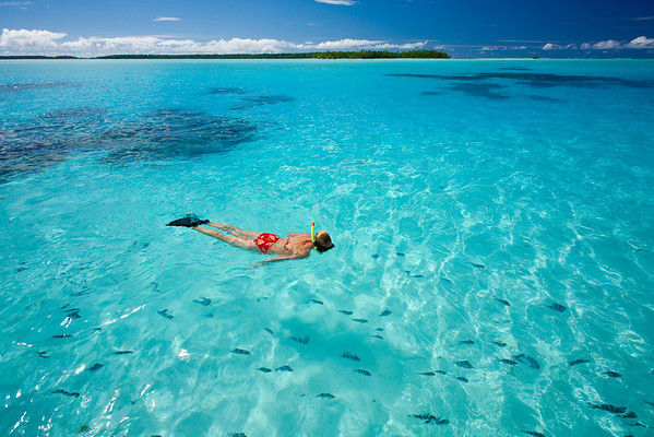 Snorkelling in the South Pacific