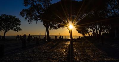 Amazing Lisbon Castle Sunshine