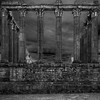 Old Roman Temple in Evora Portugal Photography By Messagez com