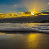 Portugal Beach at Sunset Fine Art Photography 2 by Messagez com