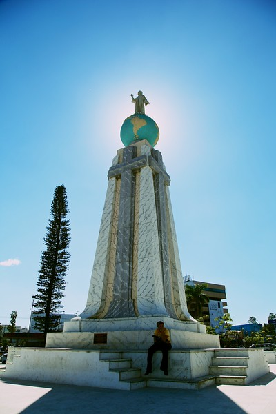 Savior of the World monument, San Salvador