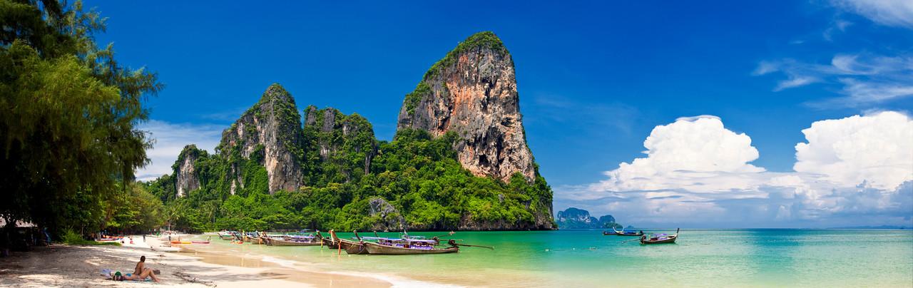 West Railey Beach, Thailand