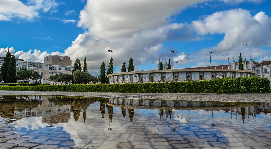 Lisbon Geronimos Monastery Reflection Photography 2 By Messagez com